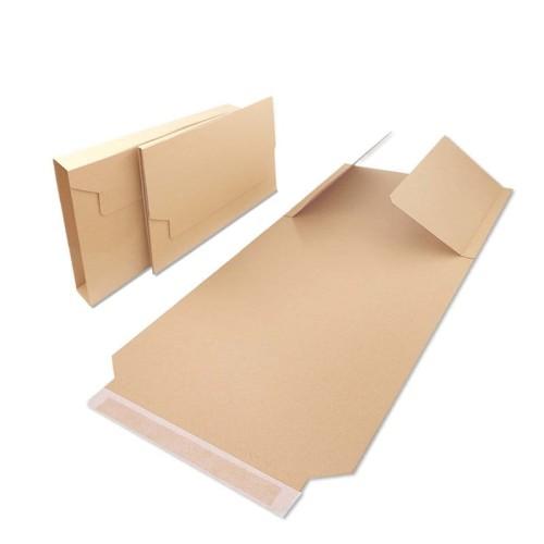 Opakowanie na książki 310x250x20-80mm A4 - BV 4 brązowe