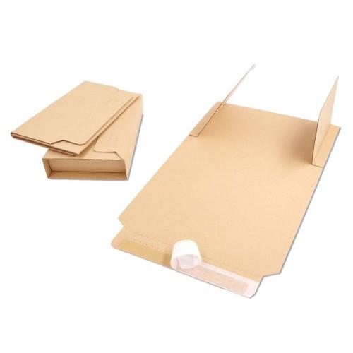 Opakowanie na książki 217X155X10-50 MM A5 - BV 1 brązowe