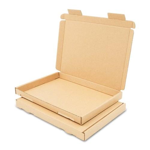 Karton pocztowy płaski 230x160x20mm GB 1 brązowy