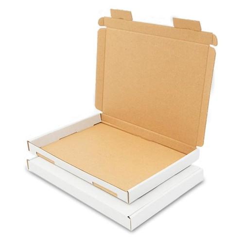 Karton pocztowy płaski 230x160x20 mm - A5 - GB 1 biały