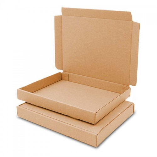 Karton pocztowy płaski 165x125x20mm GB 0 brązowy